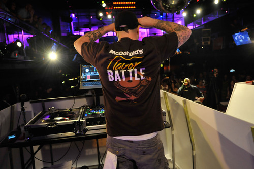 McDonald's Flavor Battle, hosted by celebrity DJ Funkmaster Flex, has begun with 12 DJs representing a U.S. region and one of McDonald's new Quarter Pounder burgers -- the Bacon and Cheese Quarter Pounder (East Coast), Deluxe Quarter Pounder (Central) and Bacon Habanero Ranch Quarter Pounder (West Coast). Music and burger lovers can vote daily at www.FlavorBattle.com for their favorite flavor master to advance to the live finale event in New York City. Each vote qualifies consumers for a chance to win a cash grand prize and Flavor ...