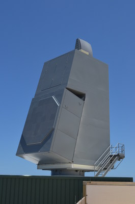 AN/SPY-6(V) Air and Missile Defense Radar array at the U.S. Navy's Pacific Missile Range Facility in Hawaii