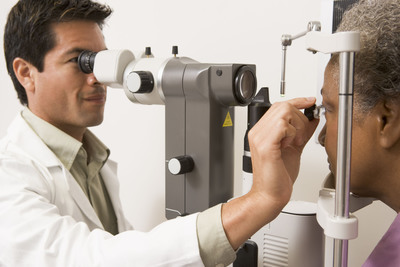 In observance of American Diabetes Month this November, ophthalmologists across the country are reminding the 25.8 million Americans living with diabetes - the leading cause of new cases of blindness among adults age 20 to 74 years - of the key steps they should take to prevent vision loss. (PRNewsFoto/American Academy of Ophthalmology) (PRNewsFoto/AMERICAN ACADEMY OF...)
