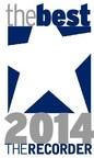"The Recorder ""Best of 2014"" Logo (PRNewsFoto/Everlaw)"