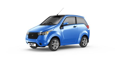 Mahindra lancia nel Regno Unito la e2o: vettura elettrica da città completamente nuova