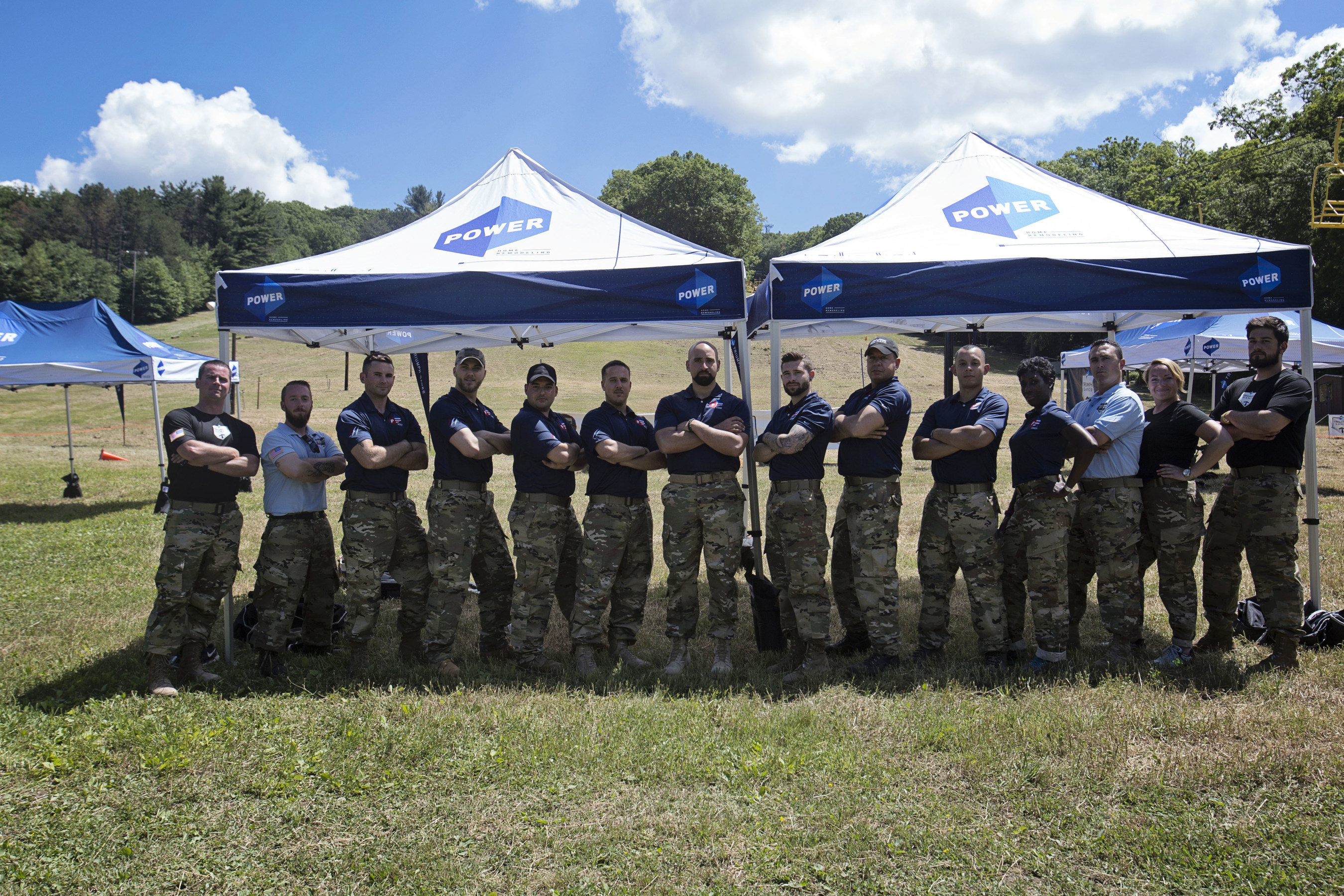 2016 Triumph Games welcome the Power Coach Team, all military veterans, as they join the athletes for competition strategy and support.