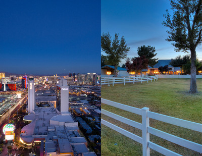 Auction of Two Luxury Las Vegas Properties Without Reserve 12/20 ConciergeAuctions.com.  (PRNewsFoto/Concierge Auctions)