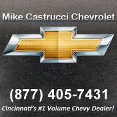 Mike Castrucci Chevrolet stocks new and used cars in Cincinnati, OH.  (PRNewsFoto/Mike Castrucci Chevrolet)