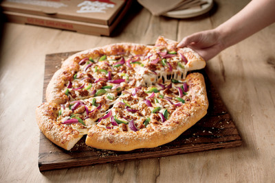 Pizza Hut(R) Launches All New Hand-Tossed Pizza Featuring A Lighter, Airier Crust.  (PRNewsFoto/Pizza Hut)