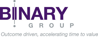 Binary Group delivers cost-effective and quick results by applying our Outcome Driven Enterprise Approach, accelerating time to value for our customers. (PRNewsFoto/Binary Group) (PRNewsFoto/BINARY GROUP)