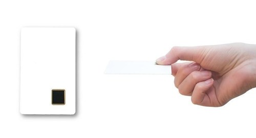 Zwipe ID, the first commercial credential offering full fingerprint identification in an ISO 7810 ID-1 and CR ...