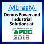 Altera booth #123. Solutions for integrated digital DC-DC power conversion, envelope tracking voltage modulation, and multi-axis motor control.