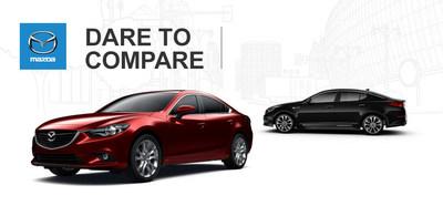 Lodi of Mazda helps customers compare the 2015 Mazda6 and 2015 Kia Optima. (PRNewsFoto/Mazda of Lodi)