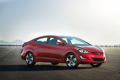 Refreshed 2014 Elantra Arrives At Los Angeles Auto Show With New GDI Engine, Dynamic Design And Host Of New Features. (PRNewsFoto/Hyundai Motor America) (PRNewsFoto/HYUNDAI MOTOR AMERICA)