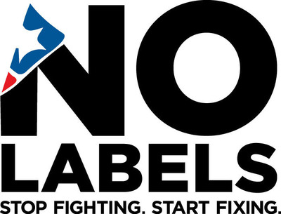 www.Nolabels.org . (PRNewsFoto/No Labels) (PRNewsFoto/NO LABELS)