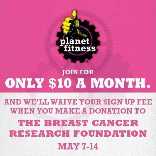 "Planet Fitness ""Pink"" Donation Event  (PRNewsFoto/Planet Fitness)"