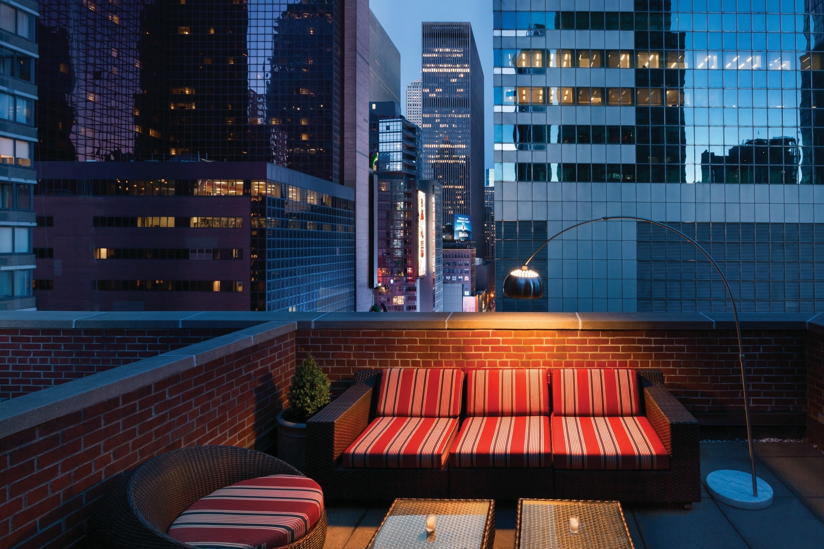 The Gallivant Times Square Presidential Suite with Rooftop Balcony