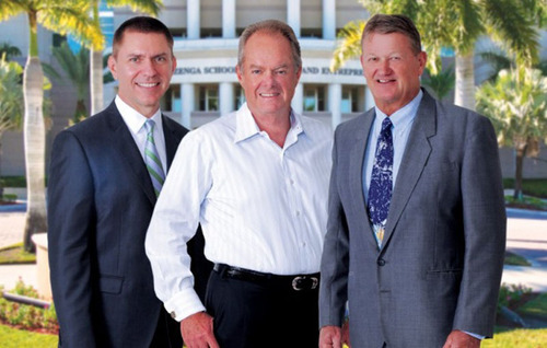 Nova Southeastern University's 2014 Entrepreneur Hall of Fame Inductees James Donnelly, Manuel Medina and ...