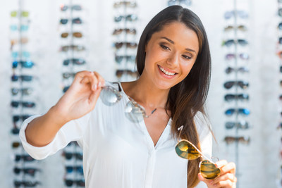"Pick sunglasses marked ""100% UV blocking"" to get the best eye protection from UV rays, say experts at the American Academy of Ophthalmology."