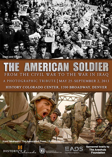 THE AMERICAN SOLDIER to open May 25 at the History Colorado Center