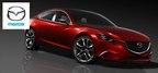2015 Mazda6 with SKYACTIV technology in Dayton, Ohio (PRNewsFoto/Matt Castrucci Mazda)