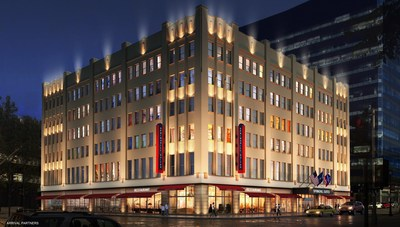 The 155-suite SpringHill Suites Milwaukee Downtown is scheduled to open in the Spring 2016.