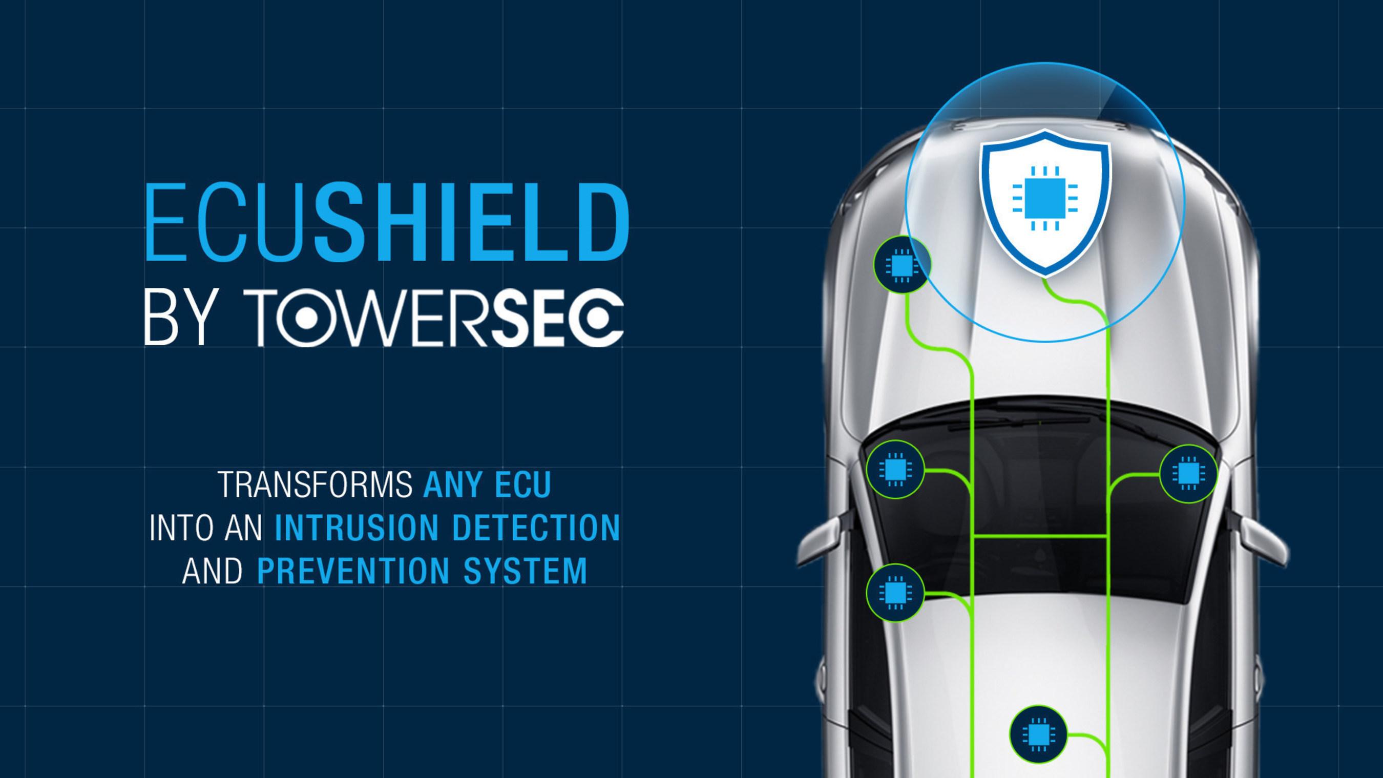 TowerSec présentera ECUSHIELD, un produit protégeant les canaux de communication internes et