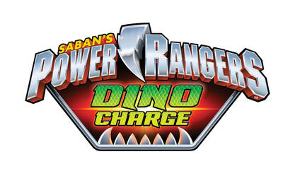 Power Rangers Dino Charge Logo.  (PRNewsFoto/Saban Brands)