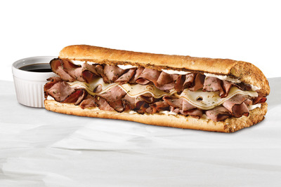 Quiznos Steakhouse Beef Dip