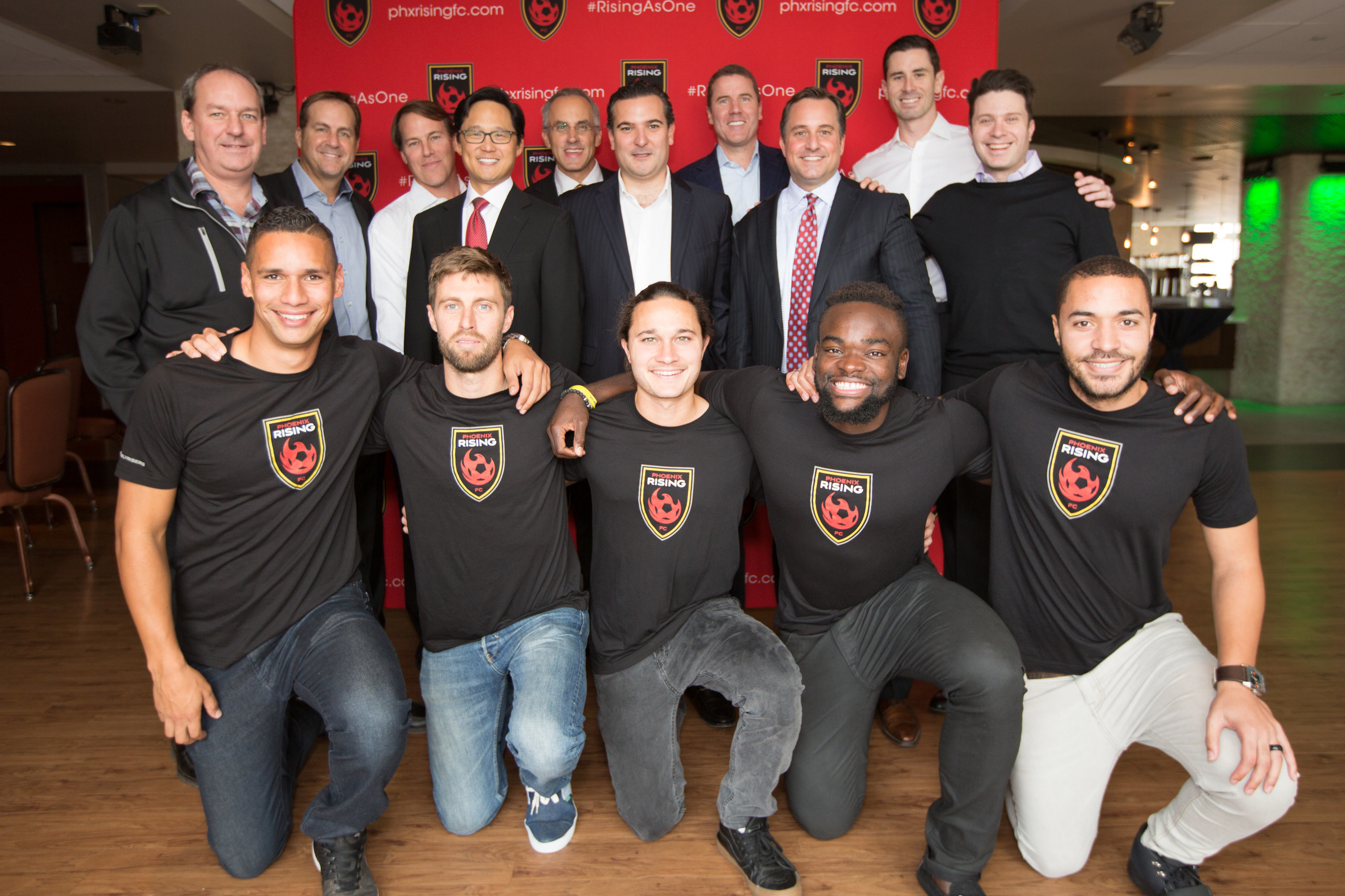 Phoenix Rising FC, Arizona's only professional soccer franchise, unveiled a new name and plans to develop a 15.8-acre soccer-specific training and stadium facility