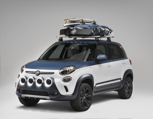 At the Vans US Open of Surfing in Huntington Beach, Calif., the FIAT brand will debut a Fiat 500L-Vans design ...