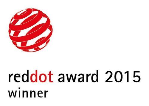 Red Dot Design Award 2015: Award for High Design Quality. (PRNewsFoto/Haselmeier AG)