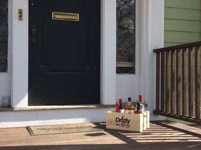 Brooklynites now can get alcohol delivered to their doorstep in just 20-40 minutes with the Drizly app for smartphones.  (PRNewsFoto/Drizly, Inc.)