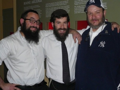 Sportz Schmooze Hosts; Moshe, Yossi and Walter