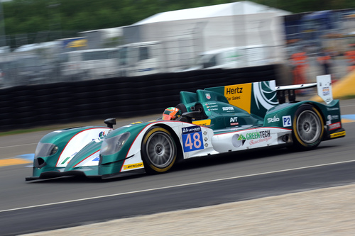 The Hertz Car Sales sponsored Murphy Prototypes team is preparing for the famous 2014 Le Mans 24 Hour race on June 14th. (PRNewsFoto/Hertz Corporation)