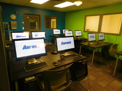 Aaron's, Inc. (AAN) associates surprised the children at Action Ministries with an updated computer lab and classroom on Thursday, January 15, 2016, in Atlanta, Georgia. The computer lab will directly benefit children of Action Ministries Atlanta Women's Community Kitchen and Children's Program by giving them access to a place to study and complete their homework. Action Ministries helps empower homeless and impoverished children in the Old Fourth Ward neighborhood to end generational...