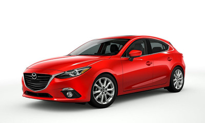 The 2014 Mazda3 is expected to arrive at Bill Jacobs Mazda this fall.  (PRNewsFoto/Bill Jacobs Automotive Group)