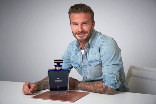 The one-off special edition is also inspired by the handcrafted crystal decanter that was commissioned as a gift from HAIG CLUB to David Beckham in celebration of his 40th birthday earlier this year. It is reminiscent of a long standing tradition of exquisite decanters produced by the House of Haig to celebrate and commemorate special occasions. (PRNewsFoto/Diageo Global Travel) (PRNewsFoto/Diageo Global Travel)
