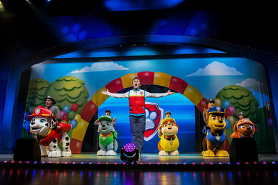 """PAW Patrol Live! """"Race to the Rescue"""" is on a Roll with First Leg of U.S. Tour; International Tour to Kickoff in Canada, Australia and Mexico February 2017 (Photo courtesy of VStar Entertainment Group and Nickelodeon)"""
