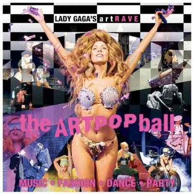 LADY GAGA'S artRAVE: The ARTPOP Ball Tickets on Sale Starting December 9th.  (PRNewsFoto/Live Nation Entertainment)