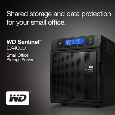 WD(R) Delivers New Line of Network Storage Servers for Small to Medium Businesses.  (PRNewsFoto/Western Digital Technologies)