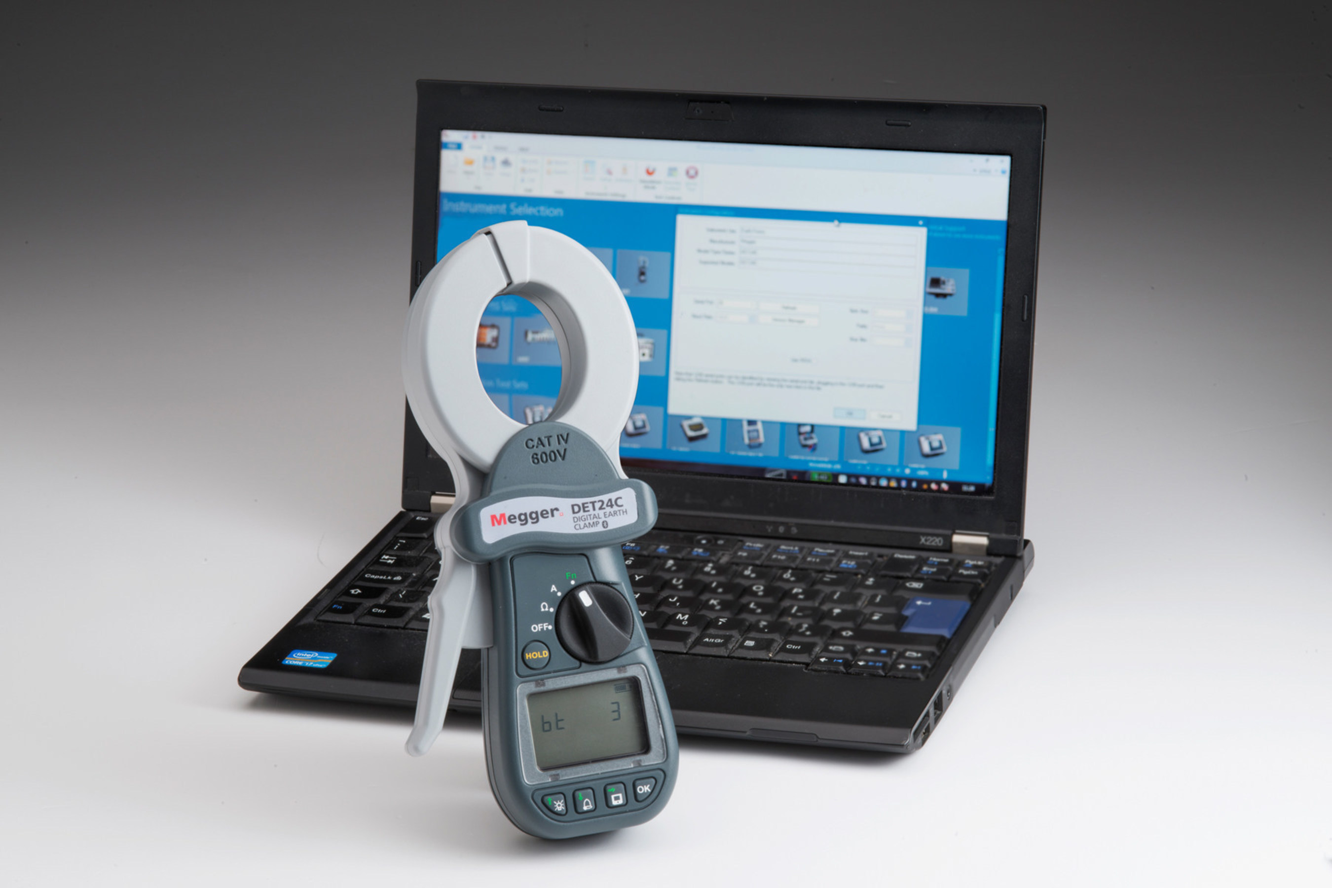 Megger Enhances Digital Clamp-on Resistance Testers to Include Bluetooth