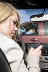 Good2Go(R) Auto Insurance introduces the Cell Phone Safety Discount for drivers who install text blocking devices to reward drivers taking action to be safer and more responsible on the road. This image must be used in conjunction with the news release with which it was originally distributed. alanpoulson/iStock/GettyImages.