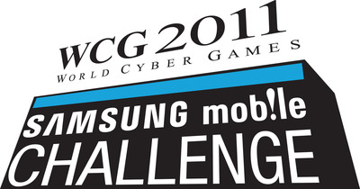 2011 Samsung Mobile Challenge Official Logo.  (PRNewsFoto/World Cyber Games Inc.)