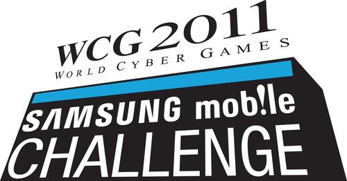 2011 Samsung Mobile Challenge Official Logo.  (PRNewsFoto/World Cyber Games Inc.)