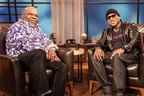 T.D. Jakes and LL Cool J chat one-on-one on T.D. JAKES presents: Mind, Body & Soul premiering Sunday, October 6th at 12:00 P.M. ET/PT on BET / Photo courtesy of BET Networks.  (PRNewsFoto/BET Networks)