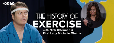 First Lady Michelle Obama & Nick Offerman join the #0to60 Campaign to celebrate the 60th Anniversary of the President's Council on Fitness, Sports & Nutrition.