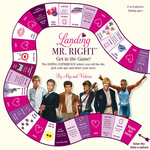 """Landing Mr. Right is a hilarious NEW board game for single women in pursuit of """"the One."""" The game, ..."""