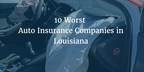 J. Antonio Tramontana Law Firm Reveals The 10 Worst Auto Insurance Companies In Louisiana