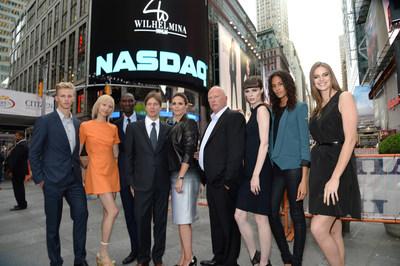 Wilhelmina International Inc. (WHLM) Rang The NASDAQ Closing Bell