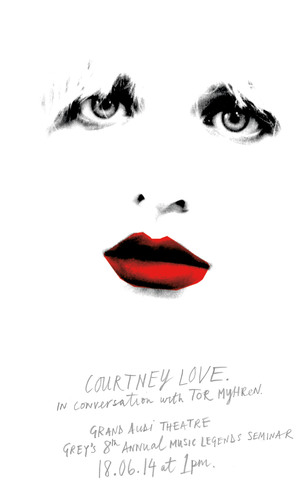 Grey Presents Courtney Love At Cannes In 8th Annual Music Legends Seminar