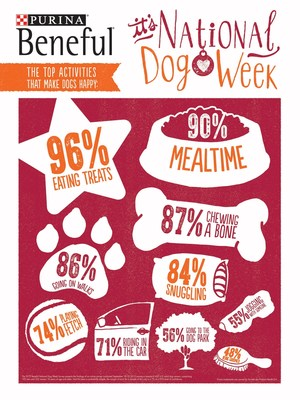The 2015 Beneful® National Dog Week survey reveals the top activities that dog owners believe make their dogs happiest.