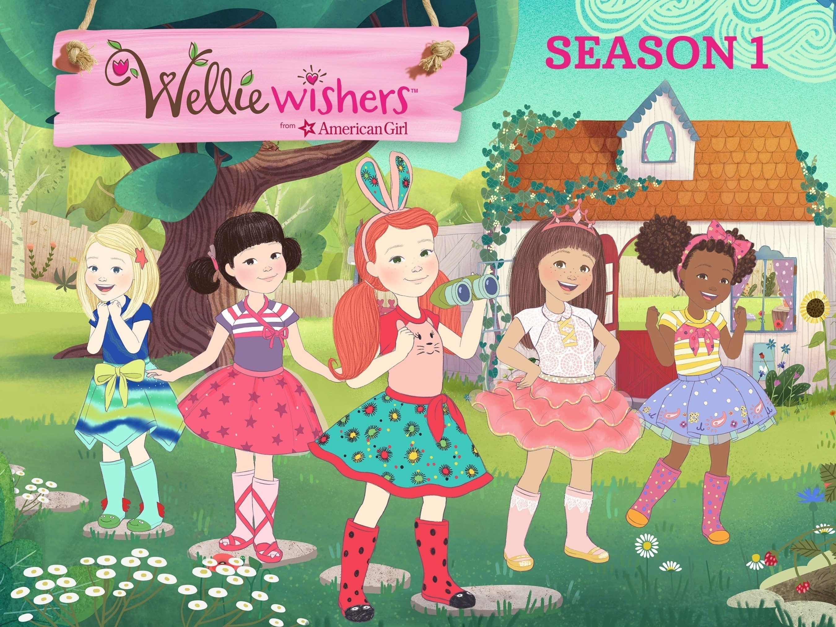 Amazon Prime Video is the exclusive premium subscription streaming home for American Girl's first-ever animated series, WellieWishers