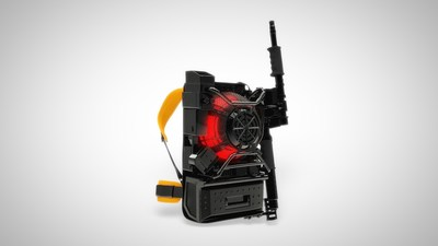 Sony develops the world's first ghost-catching device - The Proton Pack(TM).